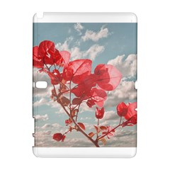 Flowers In The Sky Samsung Galaxy Note 10.1 (P600) Hardshell Case