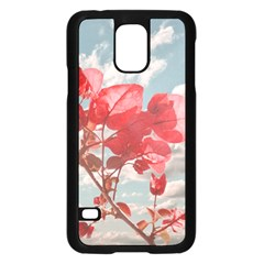 Flowers In The Sky Samsung Galaxy S5 Case (Black)