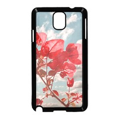 Flowers In The Sky Samsung Galaxy Note 3 Neo Hardshell Case (Black)