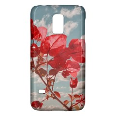 Flowers In The Sky Samsung Galaxy S5 Mini Hardshell Case