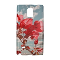 Flowers In The Sky Samsung Galaxy Note 4 Hardshell Case