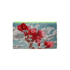 Flowers In The Sky Cosmetic Bag (xs)