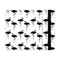 Flamingo Pattern Black On White Samsung Galaxy Tab Pro 8.4  Flip Case