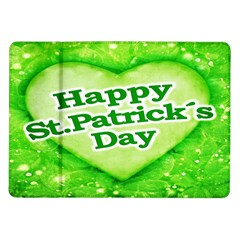 Unique Happy St  Patrick s Day Design Samsung Galaxy Tab 10 1  P7500 Flip Case