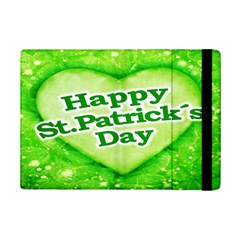 Unique Happy St  Patrick s Day Design Apple Ipad Mini 2 Flip Case