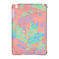 Tropical Summer Fruit Salad Apple Ipad Mini Hardshell Case (compatible With Smart Cover)