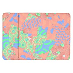 Tropical Summer Fruit Salad Samsung Galaxy Tab 8.9  P7300 Flip Case