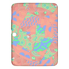 Tropical Summer Fruit Salad Samsung Galaxy Tab 3 (10 1 ) P5200 Hardshell Case