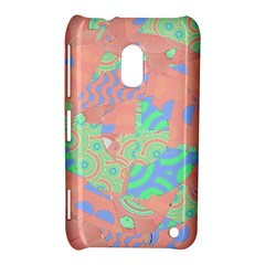 Tropical Summer Fruit Salad Nokia Lumia 620 Hardshell Case