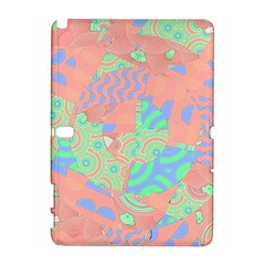 Tropical Summer Fruit Salad Samsung Galaxy Note 10.1 (P600) Hardshell Case