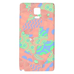 Tropical Summer Fruit Salad Samsung Note 4 Hardshell Back Case