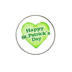 Happy St Patricks Day Design Golf Ball Marker (for Hat Clip)