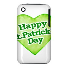 Happy St Patricks Day Design Apple iPhone 3G/3GS Hardshell Case (PC+Silicone)