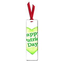Happy St Patricks Day Design Small Bookmark
