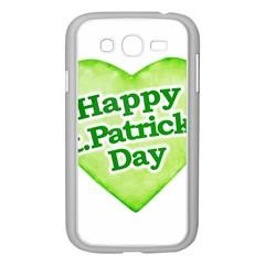 Happy St Patricks Day Design Samsung Galaxy Grand DUOS I9082 Case (White)