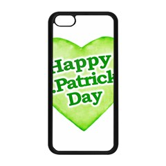 Happy St Patricks Day Design Apple iPhone 5C Seamless Case (Black)