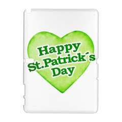 Happy St Patricks Day Design Samsung Galaxy Note 10.1 (P600) Hardshell Case