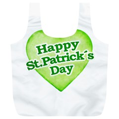 Happy St Patricks Day Design Reusable Bag (XL)