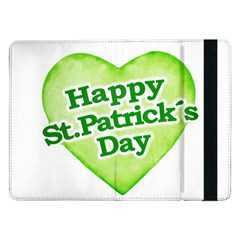 Happy St Patricks Day Design Samsung Galaxy Tab Pro 12.2  Flip Case