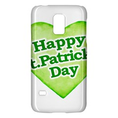 Happy St Patricks Day Design Samsung Galaxy S5 Mini Hardshell Case
