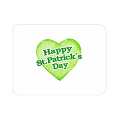 Happy St Patricks Day Design Double Sided Flano Blanket (mini)