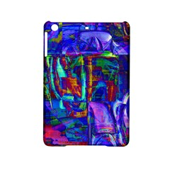 Neon Blue Purple Pink Apple iPad Mini 2 Hardshell Case