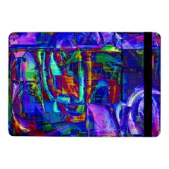 Neon Blue Purple Pink Samsung Galaxy Tab Pro 10.1  Flip Case