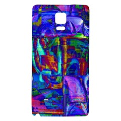 Neon Blue Purple Pink Samsung Note 4 Hardshell Back Case