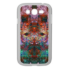 Colorful Abstract Modern Art Red Purple Samsung Galaxy Grand DUOS I9082 Case (White)
