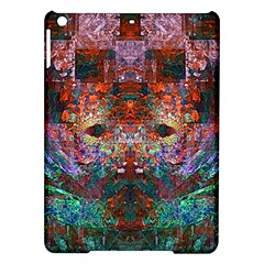 Colorful Abstract Modern Art Red Purple Apple iPad Air Hardshell Case