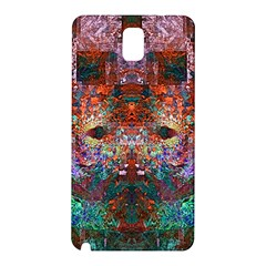 Colorful Abstract Modern Art Red Purple Samsung Galaxy Note 3 N9005 Hardshell Back Case