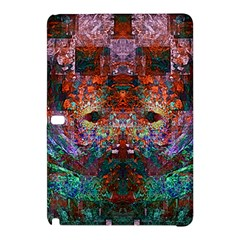 Colorful Abstract Modern Art Red Purple Samsung Galaxy Tab Pro 12.2 Hardshell Case