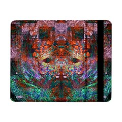 Colorful Abstract Modern Art Red Purple Samsung Galaxy Tab Pro 8.4  Flip Case