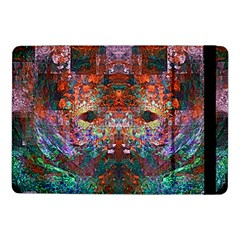 Colorful Abstract Modern Art Red Purple Samsung Galaxy Tab Pro 10.1  Flip Case