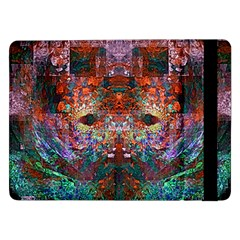 Colorful Abstract Modern Art Red Purple Samsung Galaxy Tab Pro 12.2  Flip Case