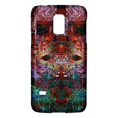 Colorful Abstract Modern Art Red Purple Samsung Galaxy S5 Mini Hardshell Case