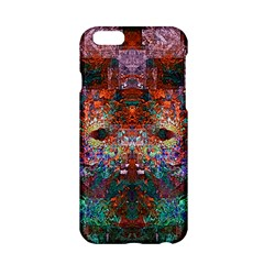 Colorful Abstract Modern Art Red Purple Apple iPhone 6/6S Hardshell Case