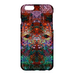 Colorful Abstract Modern Art Red Purple Apple iPhone 6 Plus/6S Plus Hardshell Case