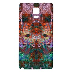 Colorful Abstract Modern Art Red Purple Samsung Note 4 Hardshell Back Case