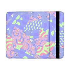 Girls Bright Pastel Abstract Blue Pink Green Samsung Galaxy Tab Pro 8.4  Flip Case