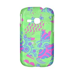 Tropical Neon Green Purple Blue Samsung Galaxy S6310 Hardshell Case