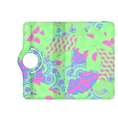 Tropical Neon Green Purple Blue Kindle Fire HDX 8.9  Flip 360 Case