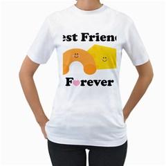 Mac & Cheese Bffs Women s T Shirt (white)