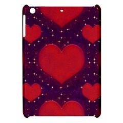 Galaxy Hearts Grunge Style Pattern Apple Ipad Mini Hardshell Case