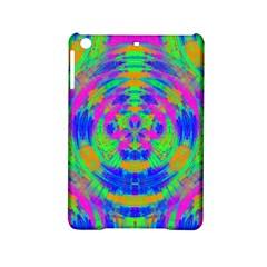 Neon Abstract Circles Apple iPad Mini 2 Hardshell Case