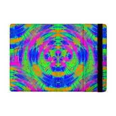 Neon Abstract Circles Apple iPad Mini 2 Flip Case
