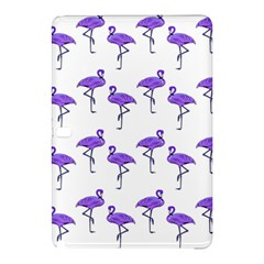 Flamingo Neon Purple Tropical Birds Samsung Galaxy Tab Pro 10.1 Hardshell Case