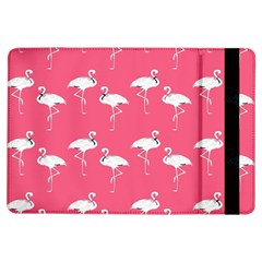 Flamingo White On Pink Pattern Apple iPad Air Flip Case
