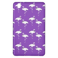 Flamingo White On Lavender Pattern Samsung Galaxy Tab Pro 8.4 Hardshell Case
