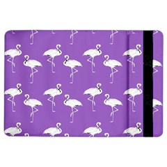 Flamingo White On Lavender Pattern Apple iPad Air 2 Flip Case